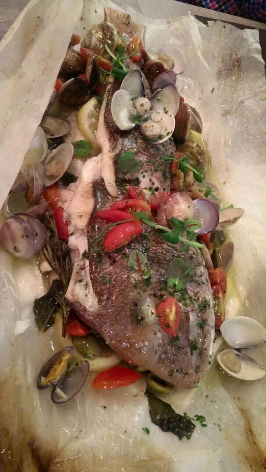 Seafood Seduction at La Piola!